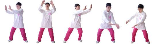《おなまえコトのは体操》…体操の流れ
